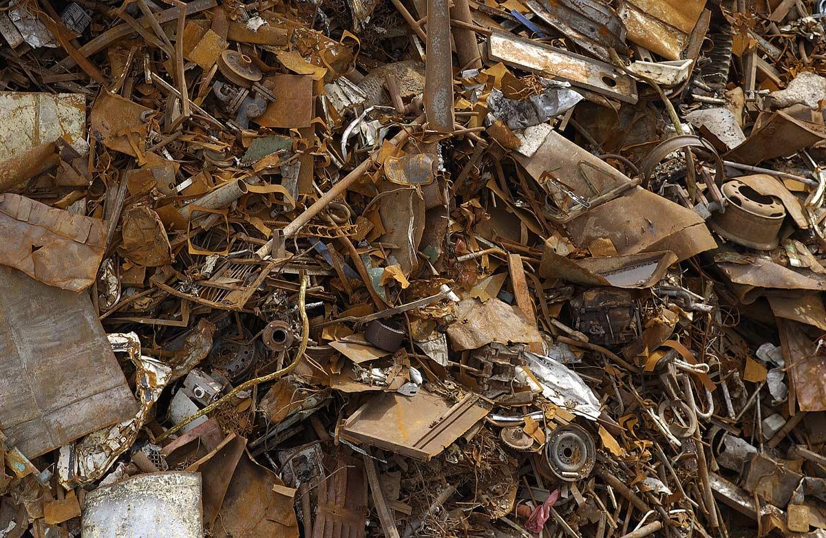 Recyclable à l'infini, la ferraille est aussi utilisée pour la production d'acier