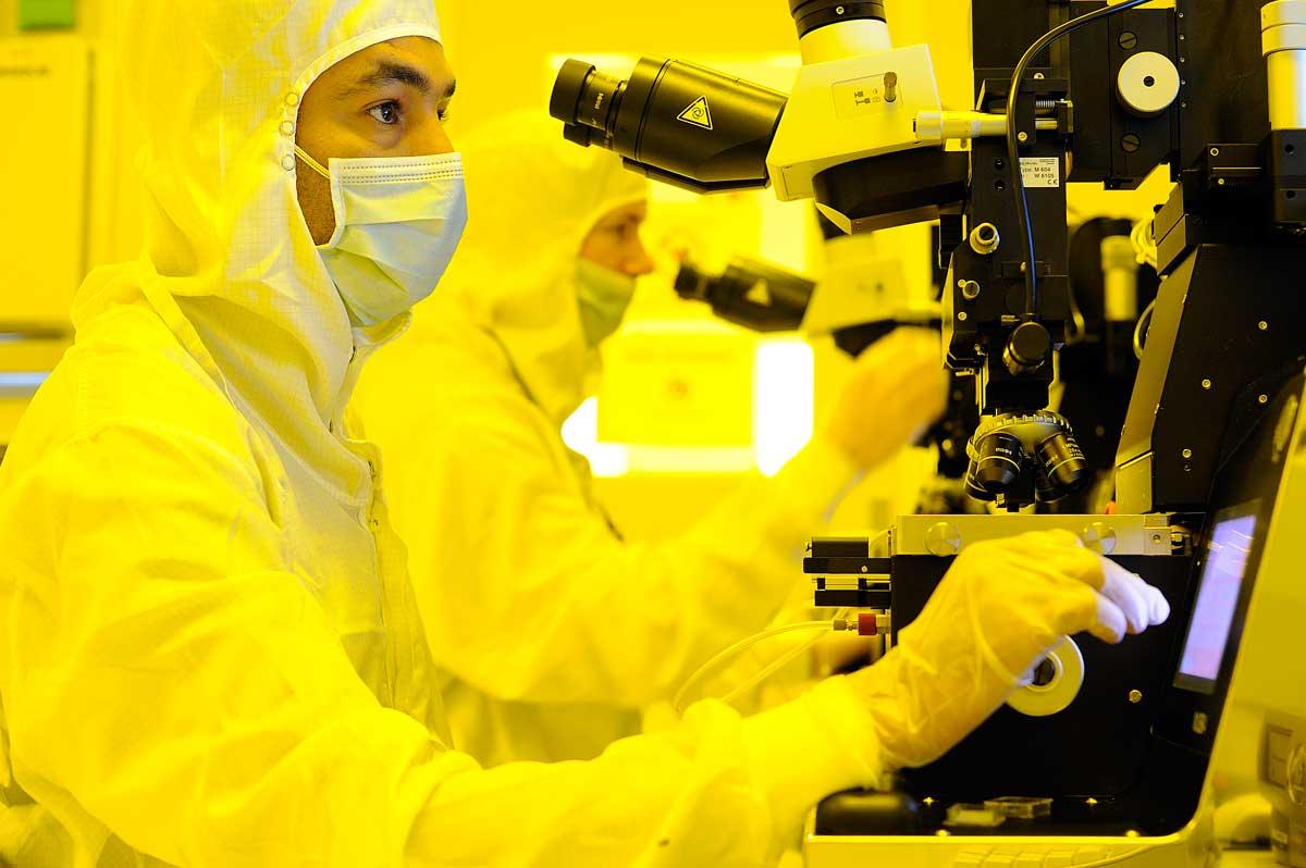 Laboratoire de nanotechnologie à Grenoble