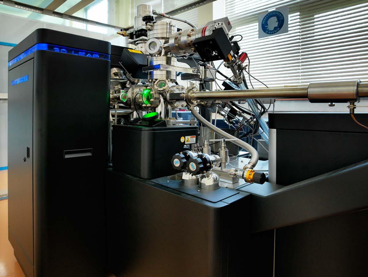 Insertion d'un élément nanométrique