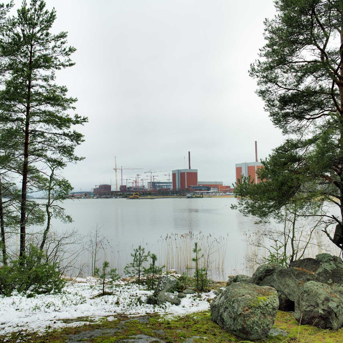 Chantier de l'EPR finlandais d'Olkiluoto
