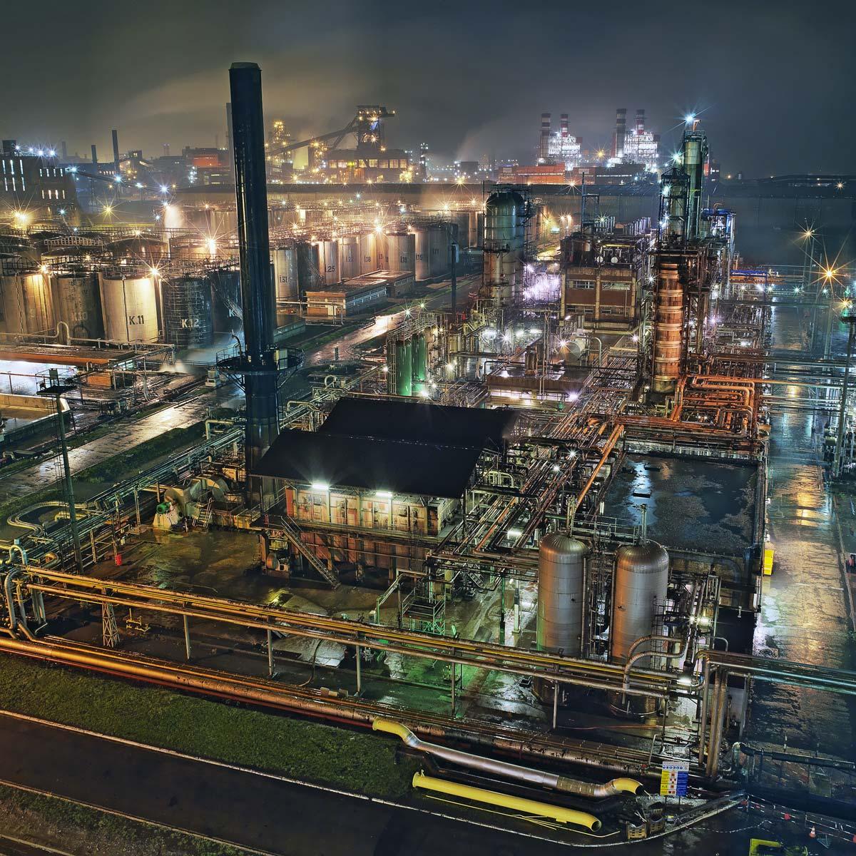 Raffinerie de bitumes à Dunkerque