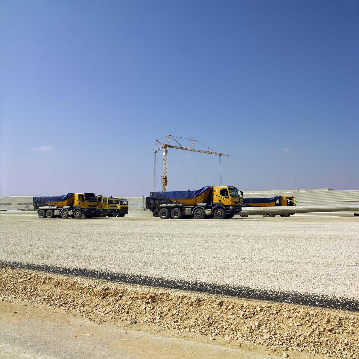 Chantier de l'usine Renault de Tangers